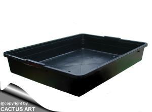 TRAY Black Danish sowing trays cm 56,5 x 42 x 9