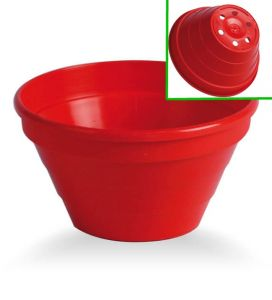 Cactus  bowl, Ø 12 cm Red