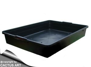 TRAY Black Danish sowing trays cm 56,5 x 42 x 9